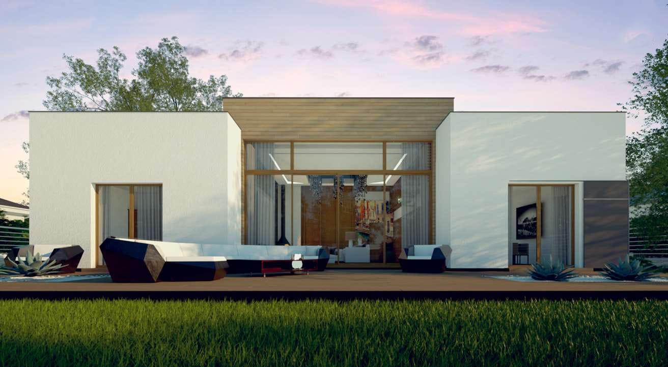 Projekte mit Panoramafenstern von Häusern