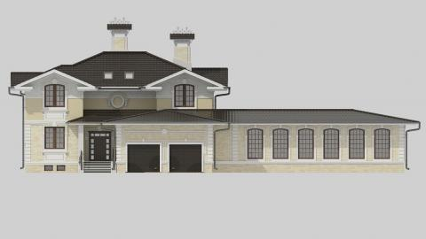 Фасад проекта 83-64