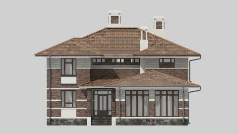 Фасад проекта 84-20