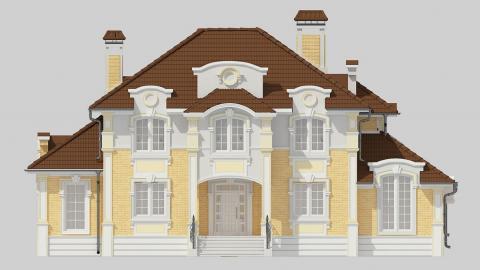 Фасад проекта 93-14