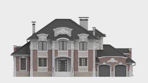 Фасад проекта 93-21