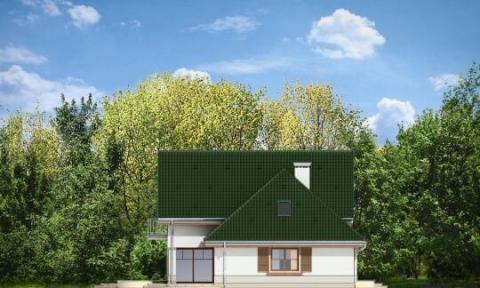 Фасад проекта Дом в Березках