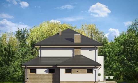 Фасад проекта Изумруд-4