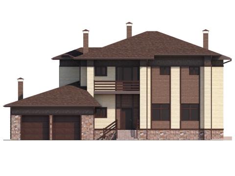 Фасад проекта Пралине