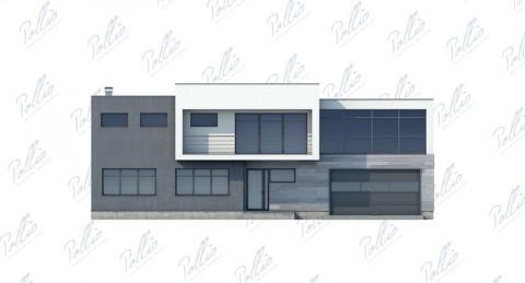 Фасад проекта Х10