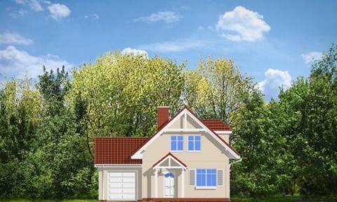 Фасад проекта Первый дом-3