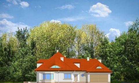 Фасад проекта Резиденция