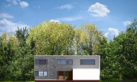 Фасад проекта Вилла Нова