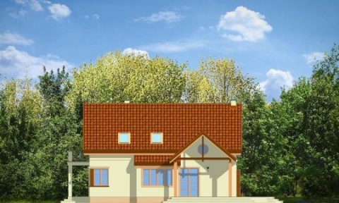Фасад проекта Весенний