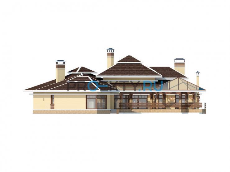 Фасады проекта Шамони