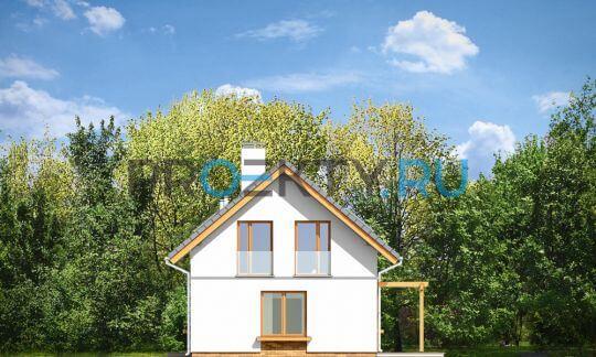 Фасады проекта Аня