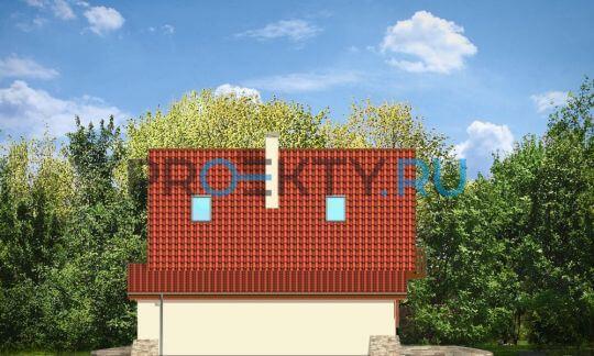 Фасады проекта Д03 с гаражом