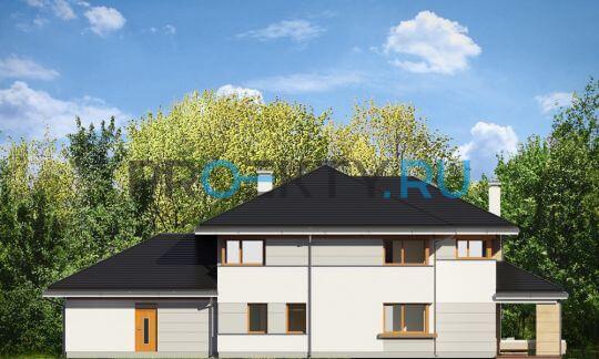 Фасады проекта Дом с видом