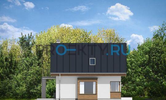 Фасады проекта Густав