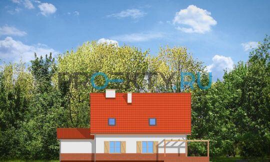 Фасады проекта Лесной Заулок