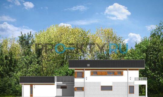 Фасады проекта Лугано