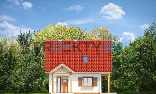 Фасады проекта Миленький