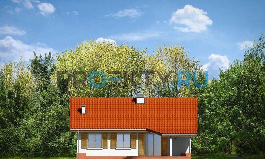 Фасады проекта Незабудка