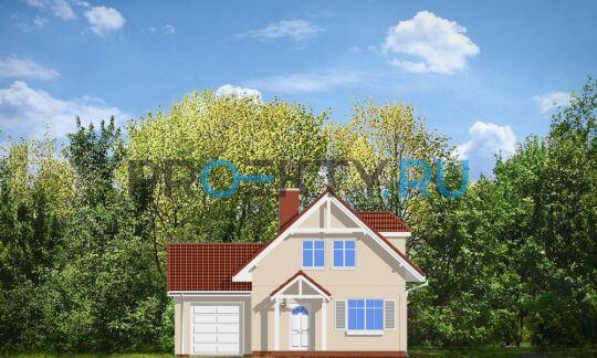 Фасады проекта Первый дом-3