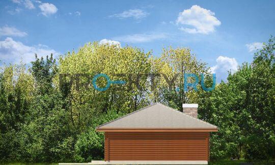 Фасады проекта Погодный Деревянный