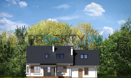 Фасады проекта Бриз-2