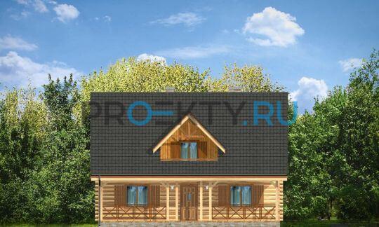 Фасады проекта Ранчо