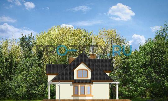 Фасады проекта Сага-3