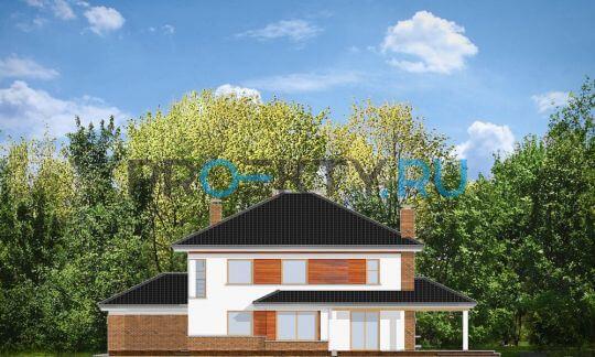 Фасады проекта Вилла на Боровой
