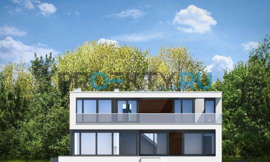 Фасады проекта Солнечная Вилла