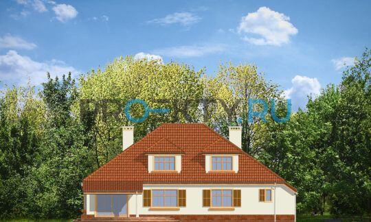Фасады проекта Затишье-3