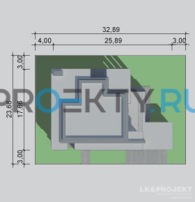 Ситуационный план проекта LK&1084