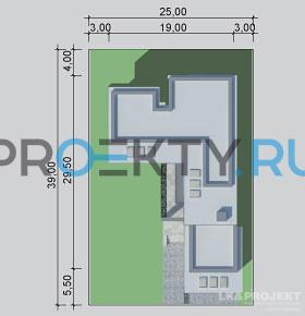 Ситуационный план проекта LK&1079