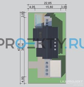 Ситуационный план проекта LK&1082