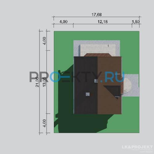 Ситуационный план проекта LK&731