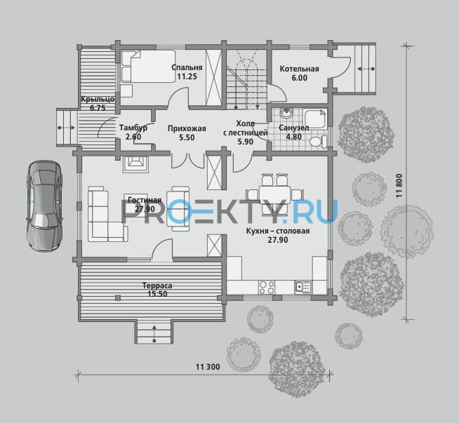 План проекта Б 195