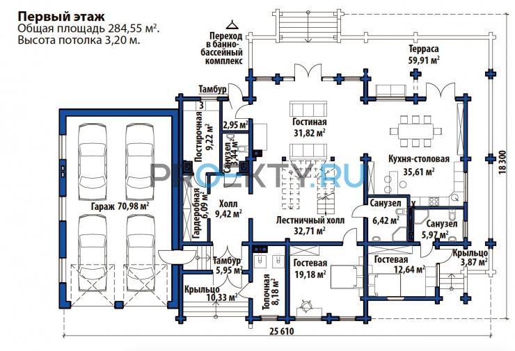 План проекта Шербрук 1 - 1