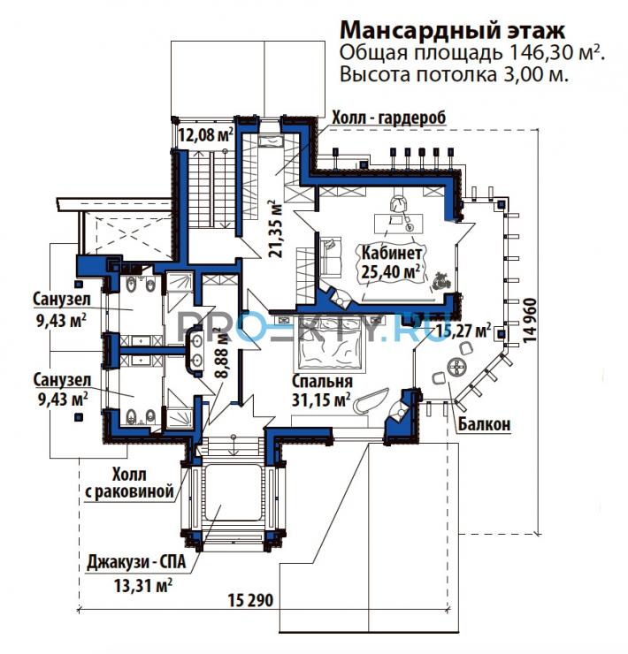 План проекта Лесной дом - 3