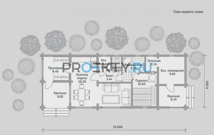 План проекта Баня БН 81