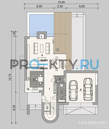 План проекта LK&875 - 1
