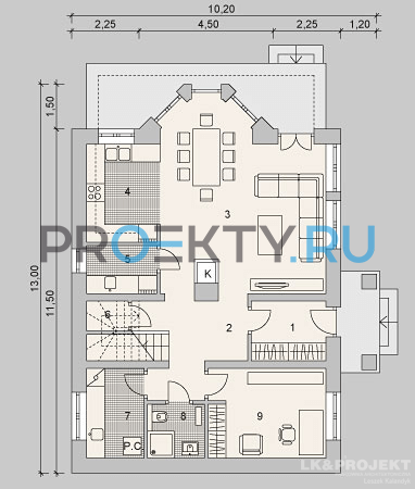 План проекта LK&1122 - 1