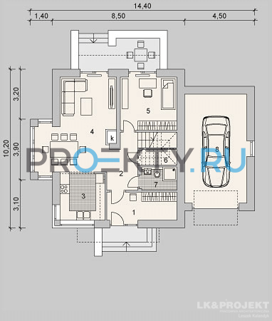 План проекта LK&1130 - 1