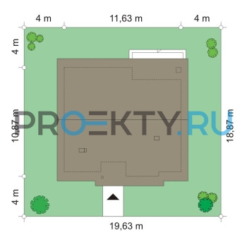 План проекта Дом для троих - 2