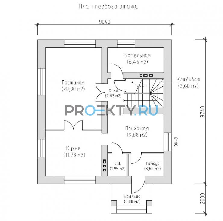 План проекта Лавальд 3