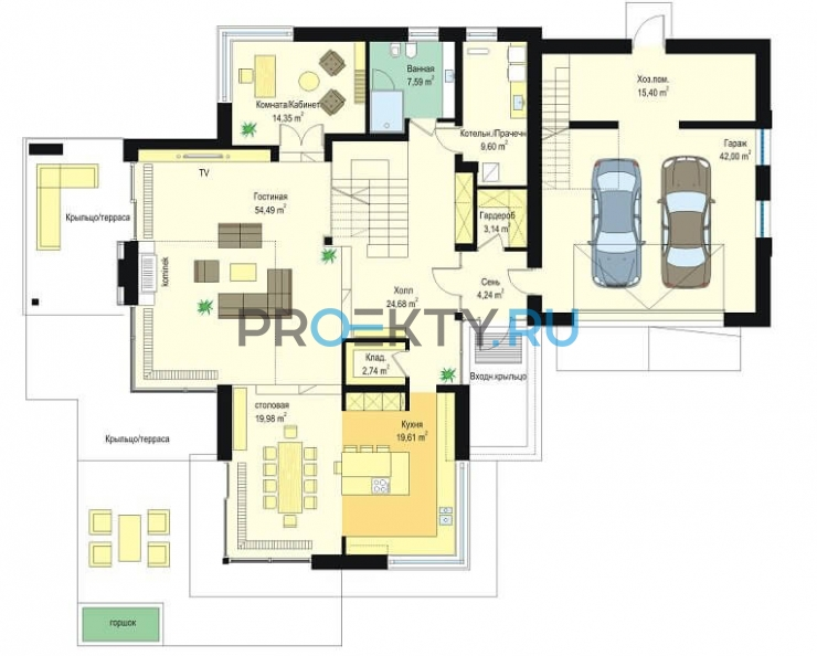 План проекта Дом с видом - 1