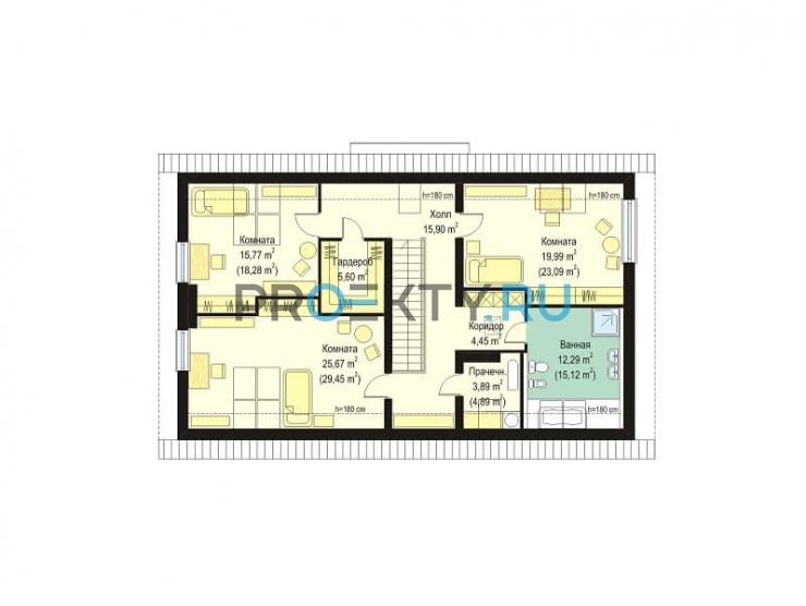 План проекта Дом на горке - 3