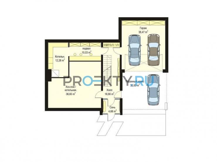 План проекта Дом на горке - 1