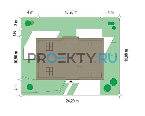 План проекта Дом на горке - 4