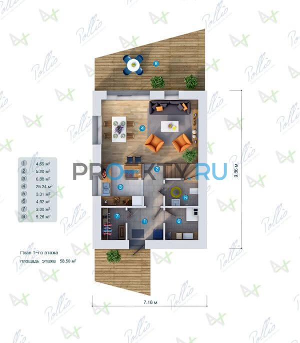 План проекта P1