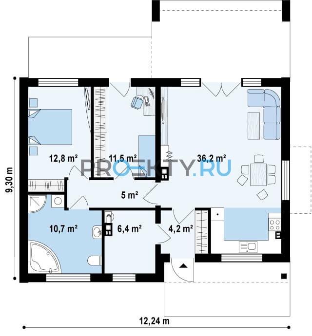 План проекта Z256