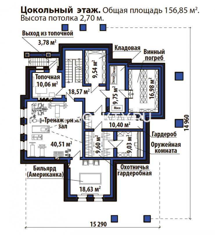 План проекта Лесной дом